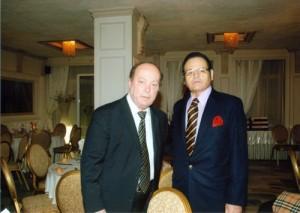 Ο Πρόεδρος του Ιατρικού Συλλόγου κ. Μπερεδήμας Πανγιώτης με τον ιατρό κ.Τράντζα Βασίλειο.